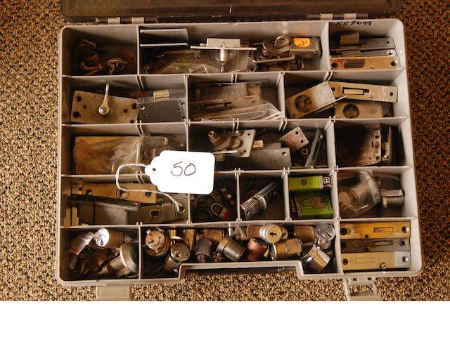 A quantity of Rolls-Royce lock hardware,