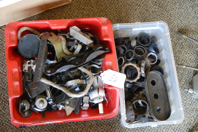 A quantity of jack hardware and chassis fittings,