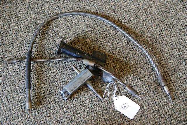A Berkshire windshield wiper box with cables,