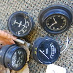 A set of Rolls-Royce gauges,