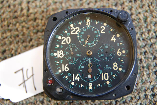 An Elgin military chronograph,