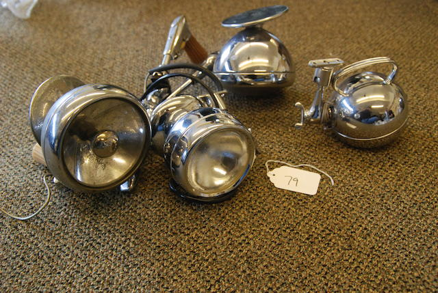 A quantity of spotlights,