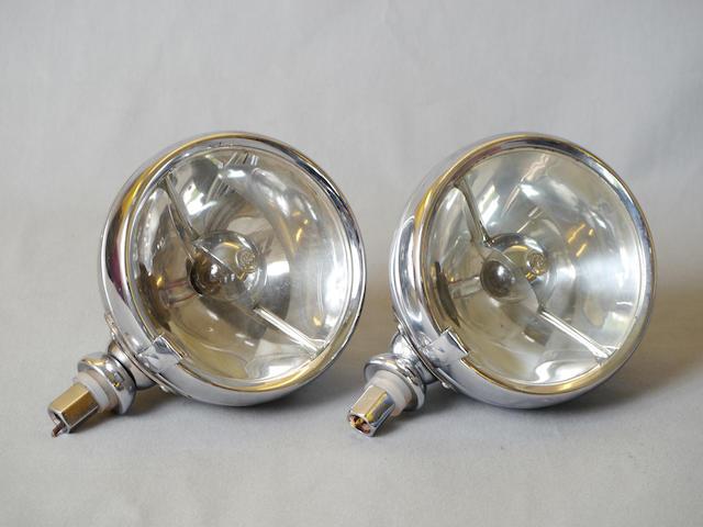 A pair of Lucas FT37 driving lights,