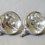 A pair of Lucas FT37 driving lights,