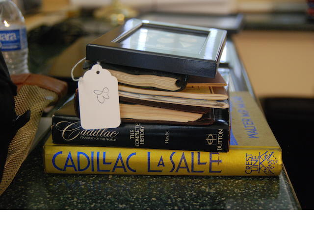 A quantity of Cadillac literature,