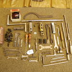 A good but incomplete selection of Roll-Royce Phantom tools,