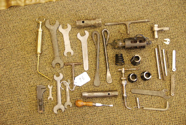 95. A good but incomplete selection of pre-WWII Roll-Royce tools,