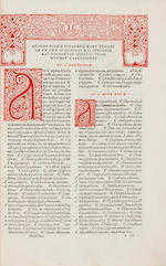 Hesychius of Alexandria - Dictionarium.  Florence: Giunta, 1520 - 2d Ed - Folio, - 18th-cent calf -