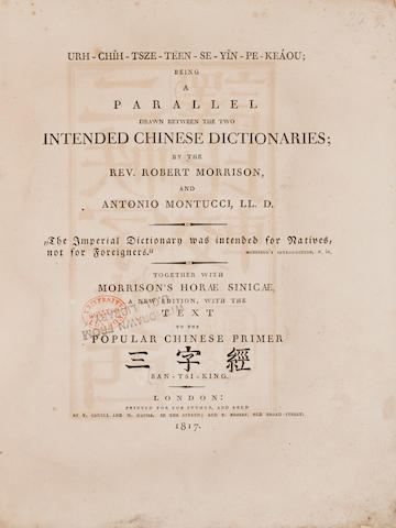 Montucci. Urh-Chih.. 1817