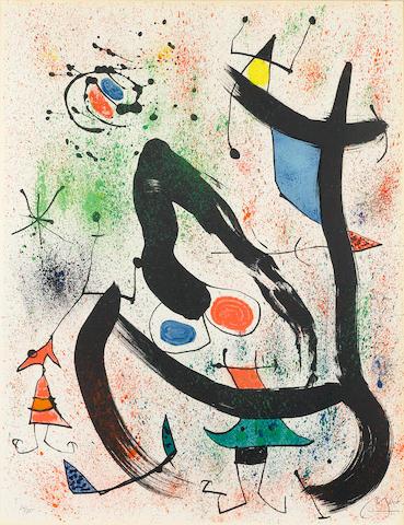 Joan Miró (1893-1983); The Seers IV;