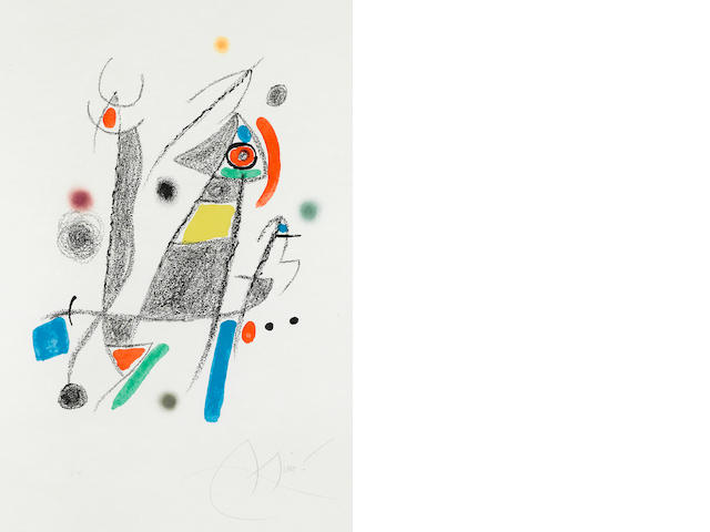 Joan Miró (1893-1983); Maravillas con variaciones acrósticas en el Jardín de Miró;