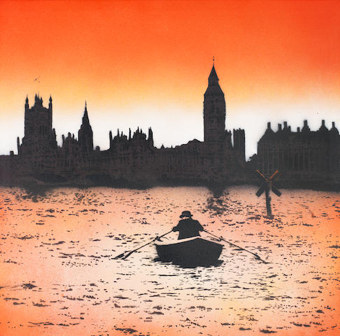 Nick Walker (b. 1969) The Morning After: London<BR />