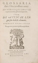 Estienne. Glossaria. 1573/