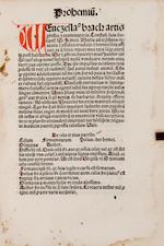 BRACK, WENCESLAUS. Vocabularius rerum. Strasbourg: Printer of Jordanus de Quedlinburg, December 22, 1495.