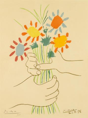Pablo Picasso (1881-1973); Paz. Estocolmo;