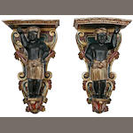 Pair of Blackamoor wall sconces