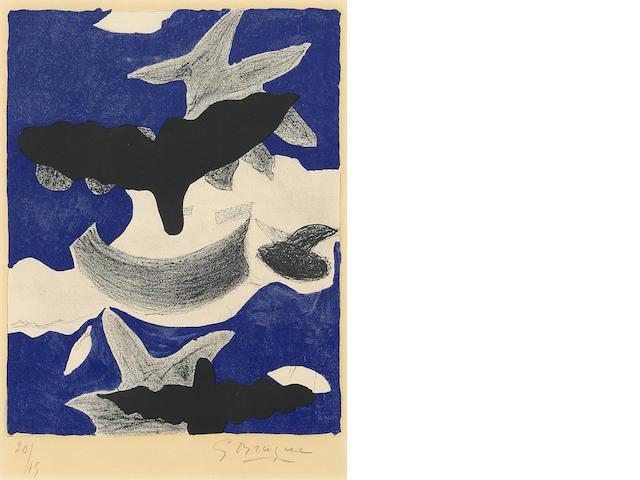 Georges Braque (1882-1963); Oiseaux;