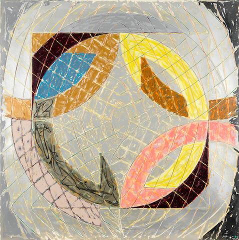 Frank Stella (born 1936); Polar Co-Ordinates VIII, from Polar Co-Ordinates for Ronnie Peterson;