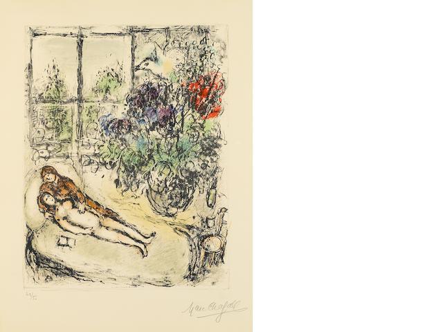 Marc Chagall (1887-1985); Studio Light;