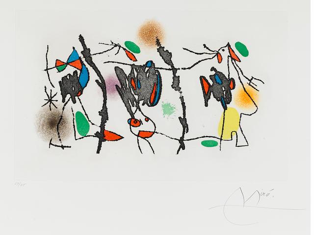 Joan Miró (1893-1983); Ocellaire;