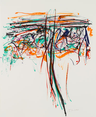 Joan Mitchell (1926-1992); Tree II;