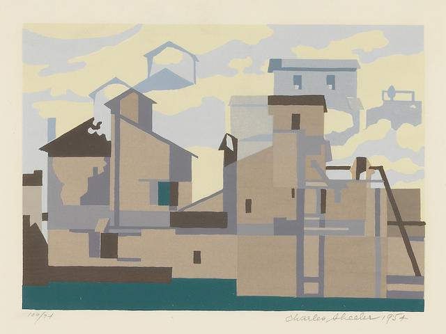 Charles  Sheeler (1883-1965); Architectural Cadence;