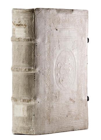 MARCHESINUS, JOANNES. Late 13th/early 14th c. Mammotrectus super Bibliam. Strasbourg: [Martin Flach], 1494.<BR />