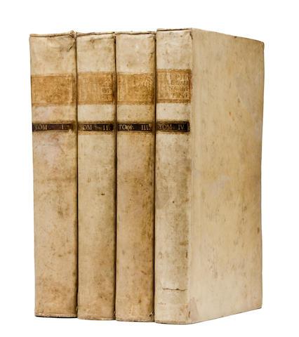 ESTIENNE, ROBERT AND HENRI. Thesaurus linguae latinae. Basel: E. & J.R. Thurnis, 1740.