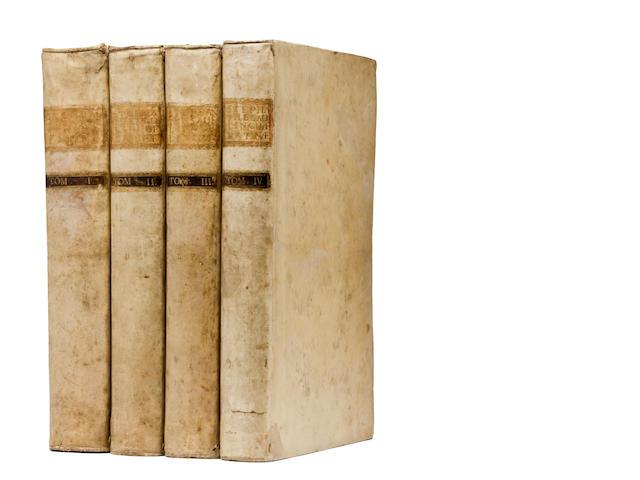 Estienne. Thesaurus linguae latinae. Basel - 1743. 4 vols