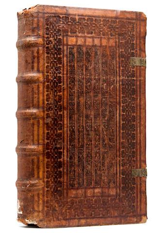 NIZOLIUS, MARIUS. Thesaurus Ciceronis.  Basel: Hervagius per Eusebium Episcopium, 1583.<BR />