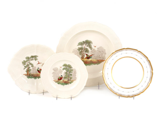A group of Royal Doulton porcelain plates in two patterns