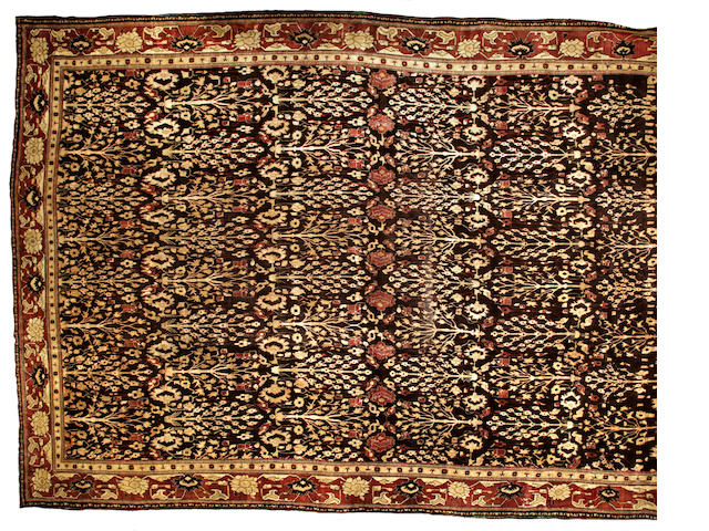 An Agra carpet India size approximately 16ft. 1in. x 23ft. 1in.