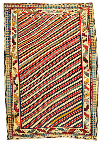 A Shirvan rug Caucasus approximately 3ft. 10in. x 5ft.