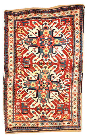 A Eagle Kazak rug Caucasus size approximately 5ft. x 8ft. 1in.