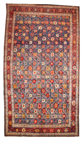 A Mahal carpet Central Persia size approximately 12ft. 2in. x 22ft. 3in.