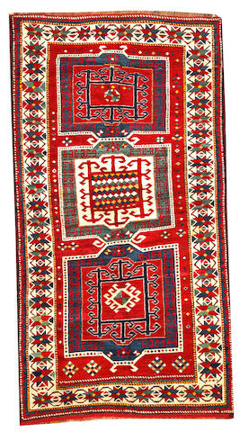 A Kazak rug  Caucasus size approximately 8ft. 5in. x 4ft. 6in.