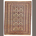 A Shirvan rug  Caucasus size approximately 4ft. 3in. x 5ft. 4in.