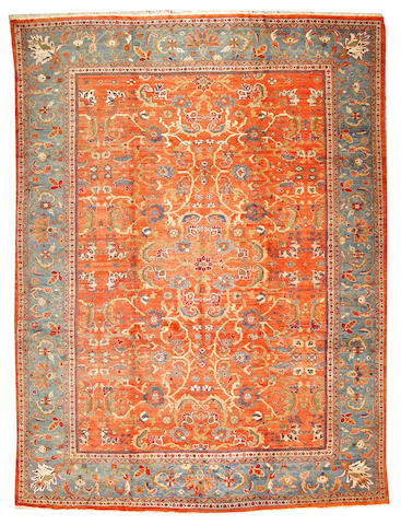 A Sultanabad carpet  Central Persia size approximately 10ft. x 13ft. 5in.