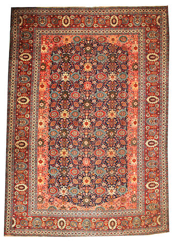 A Tabriz carpet Northwest Persia size approximately 11ft. x 15ft. 2in.