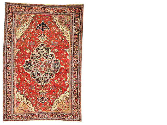 A Sarouk Fereghan carpet  Central Persia size approximately 9ft. 2in. x 13ft. 2in.