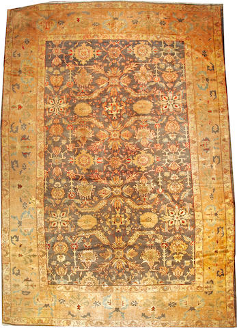 A Sultanabad carpet Central Persia size approximately 13ft. 11in. x 20ft. 2in.