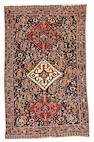A Qashqa'i rug  Southwest Persia size approximately 4ft. 6in. x 7ft. 2in.