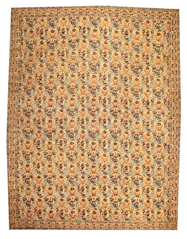 A Lavar Kerman carpet South Central Persia size approximately 14ft. 3in. x 18ft. 8in.