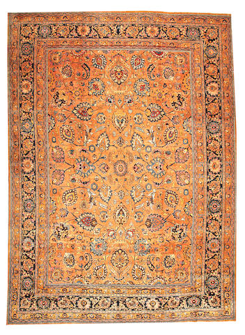 A Meshed carpet  Northeast Persia size approximately 11ft. 8in. x 16ft.