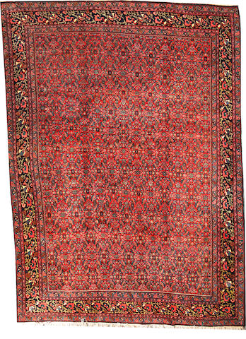 A Bidjar carpet  circa 1900 size approximately 9ft. 3in. x 12ft. 8in.