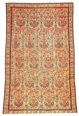 A Fereghan rug  Central Persia size approximately 4ft. 1in. x 6ft. 2in.