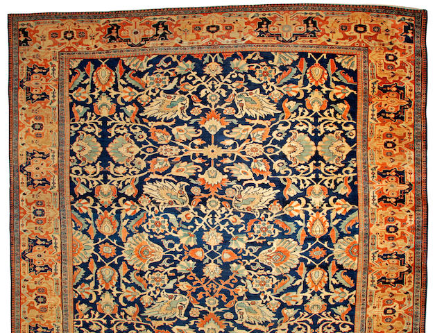 A Sultanabad carpet Northwest Persia size approximately 16ft. 6in. x 20ft.