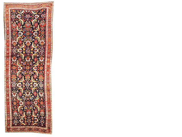 A Bakshaish long carpet Northwest Persia size approximately 6ft. 2in. x 16ft. 6in.
