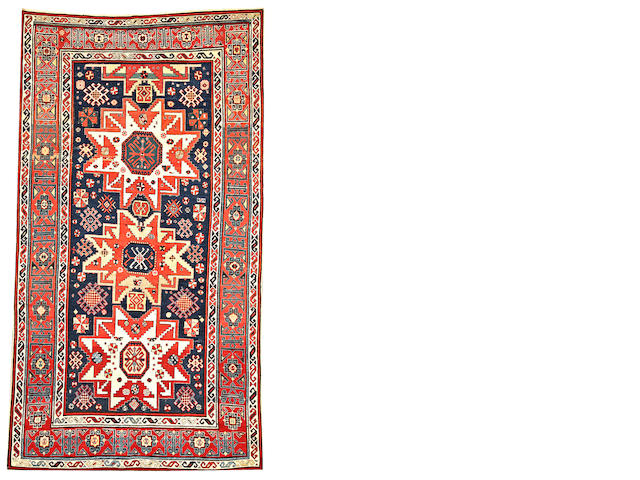 A Caucasian runner Caucasus size approximately 5ft. 8in. x 10ft. 3in.