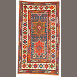 A Kazak rug  Caucasus size approximately 3ft. 5in. x 6ft.